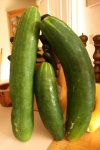 Big, sweet cucumbers.