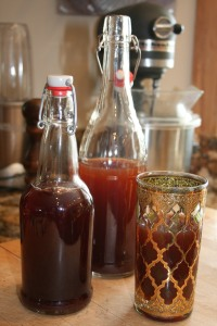 Kombucha is easy to make.