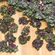Kalettes make great chips